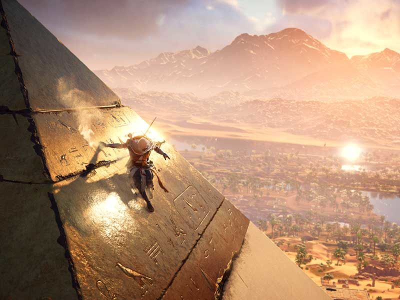 Watch: Assassin's Creed Origins E3 trailer and gameplay