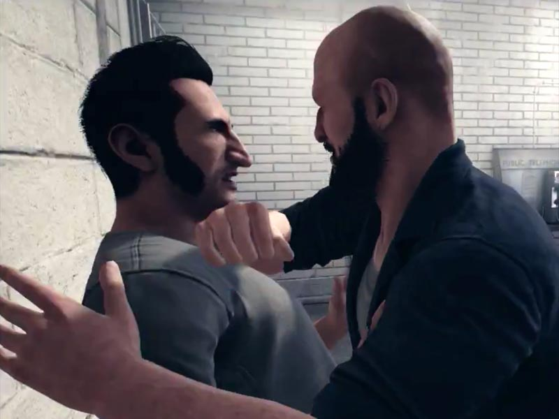 A Way Out E3 reveal and gameplay