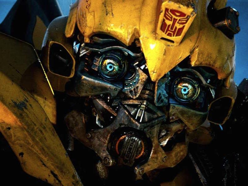 Transformers Bumblebee buzz