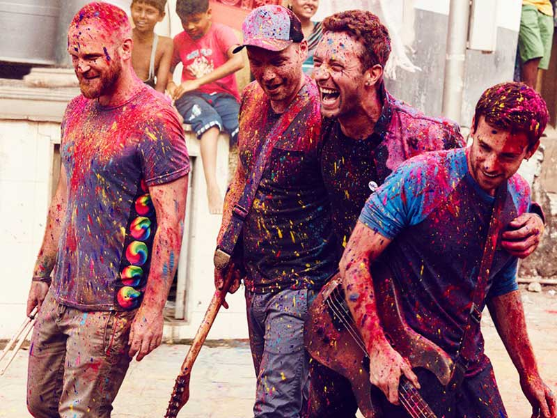 Watch: New Coldplay track and lyric video
