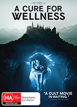 A Cure For Wellness DVD Cover