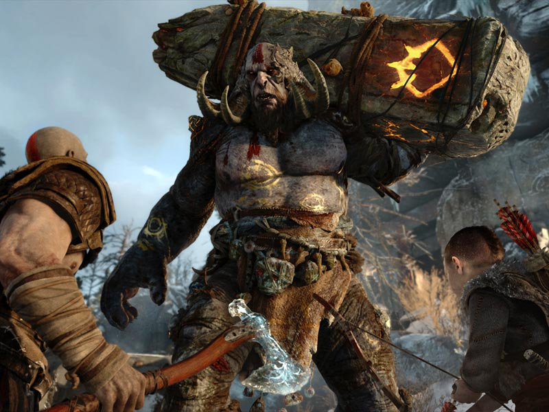 God of War E3 gameplay trailer
