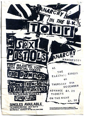 Jamie Reed Anarchy in the UK Flyer
