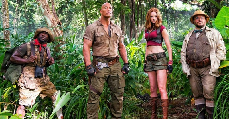Don't cry! 6 things we noticed about the Jumanji: Welcome to the Jungle trailer