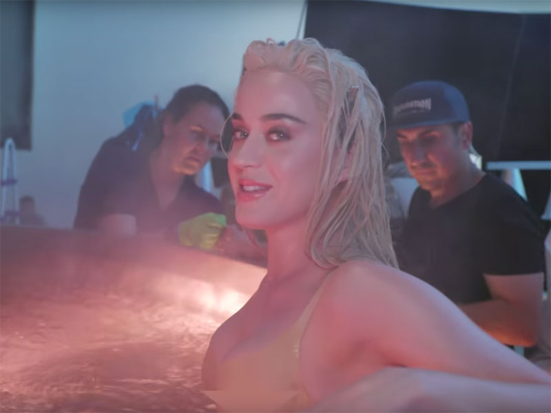 Watch: The making of Katy Perry's 'Bon Appetit' video