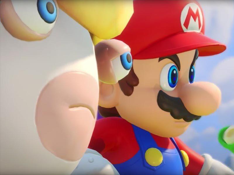 Watch: Mario + Rabbids Kingdom Battle E3 trailer