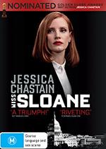 Miss Sloane DVD cover