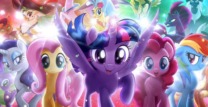Sayin' Brony Brony! My Little Pony: The Movie trailer