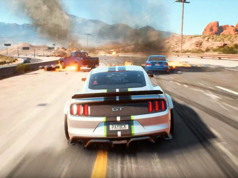 New Need for Speed: Payback E3 gameplay trailer