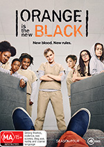 Orange is the New Black Season 4 DVD Cover