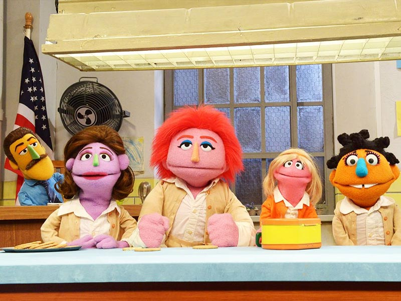 Sesame Street does Orange Is the New Black
