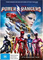 Power Rangers DVD cover