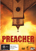 Preacher Season One DVD cover