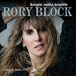 Rory Block Keepin Outta Trouble album cover