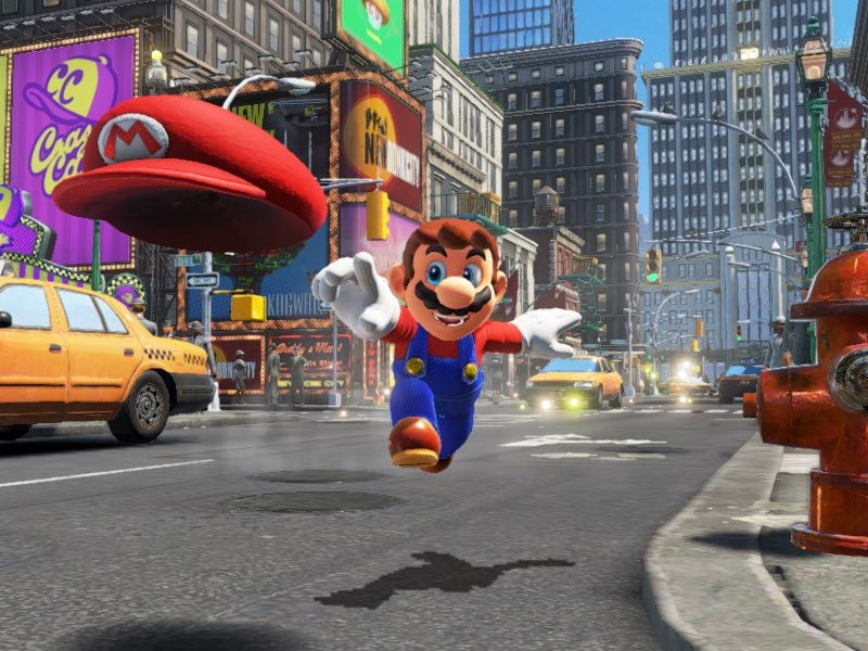 Super Mario Odyssey E3 trailer and gameplay