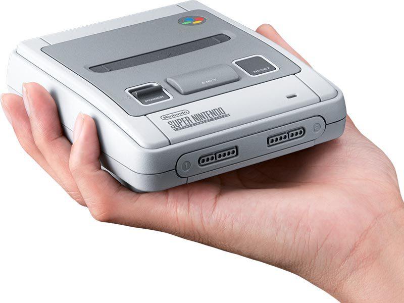 Honey, I shrunk the Super Nintendo!