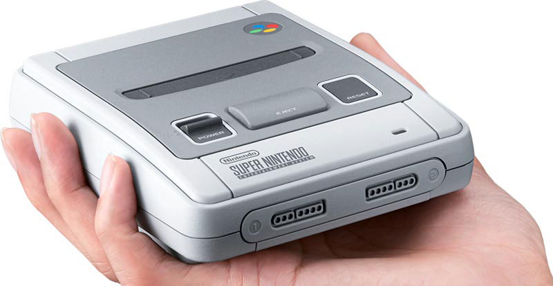 Honey, I shrunk the Super Nintendo!