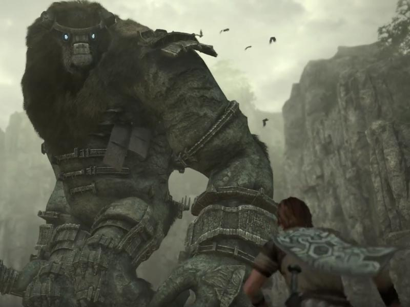 Shadow of the Colossus E3 trailer
