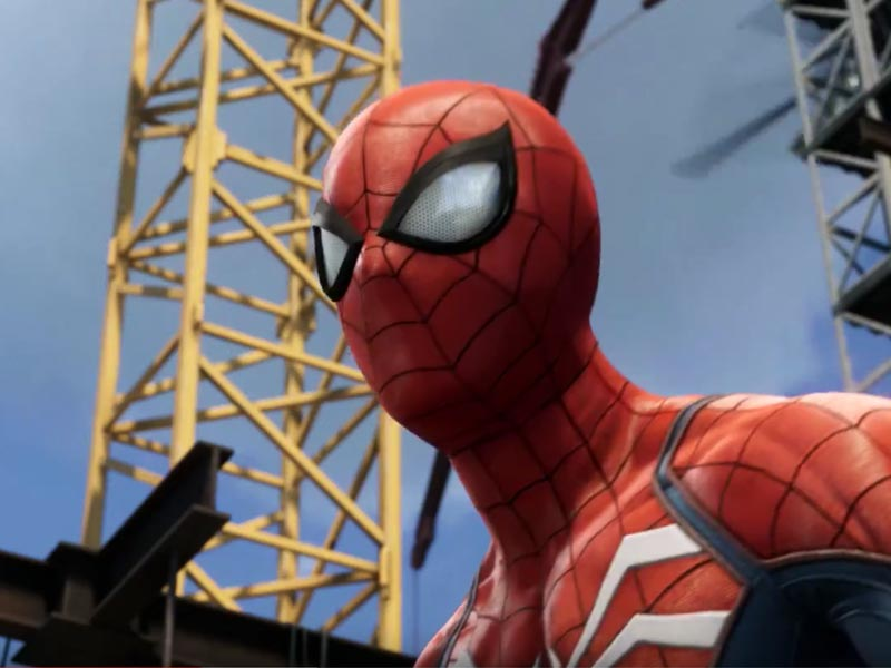 Spider-Man E3 gameplay trailer
