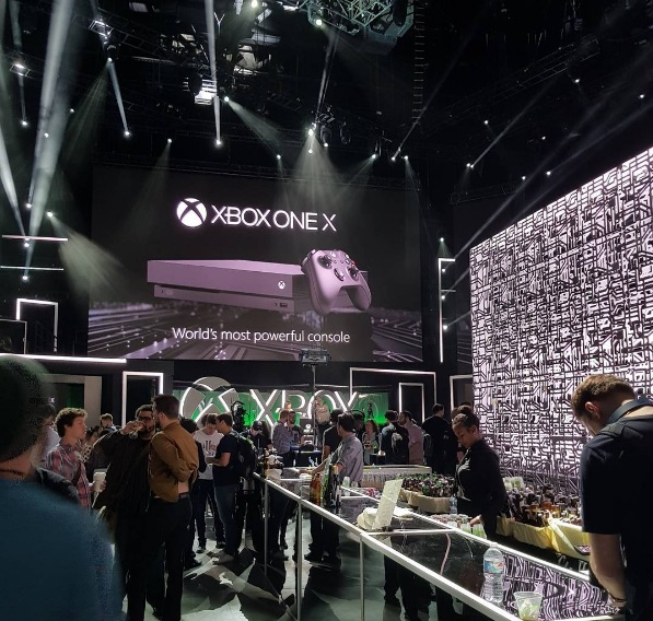 Xbox One X hands-on at E3