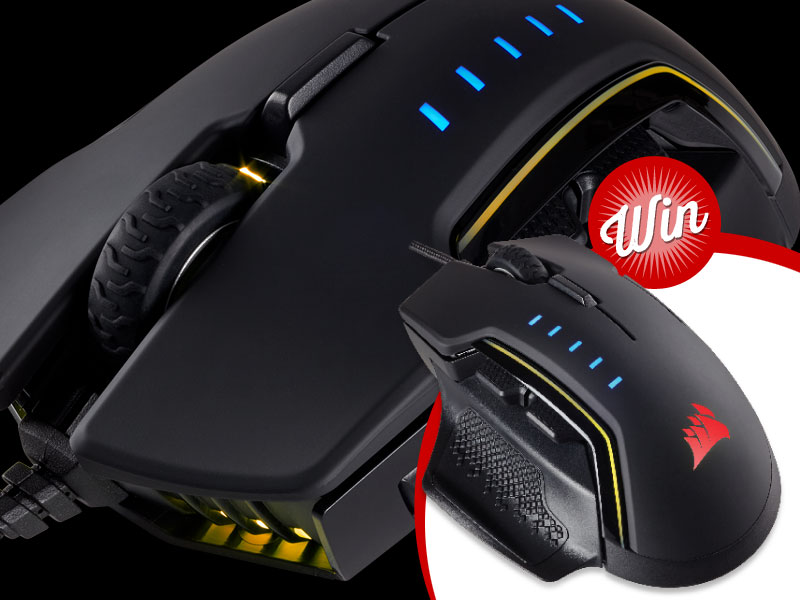 Win: Score a Corsair Glaive RGB Gaming Mouse