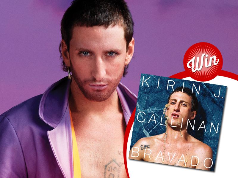 Win a signed copy of Kirin J. Callinan's 'Bravado' on vinyl