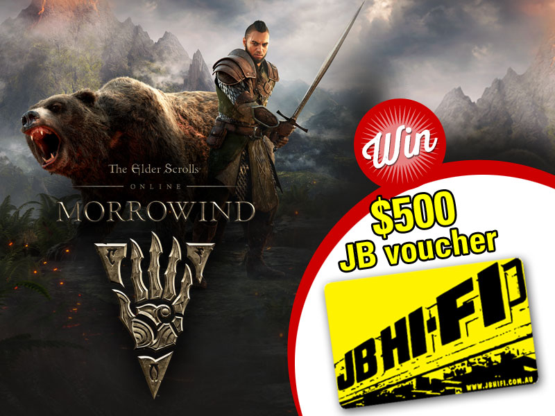 Win: $500 JB Hi-Fi voucher with Morrowind