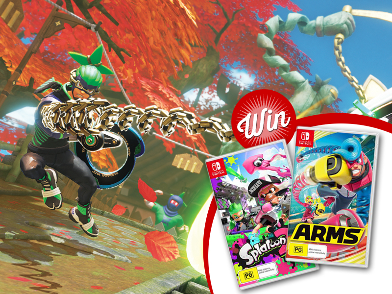 Win: One of four Nintendo Switch game prize packs