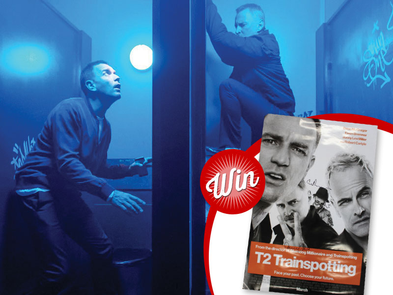 Win: T2: Trainspotting poster signed by Danny Boyle and the cast