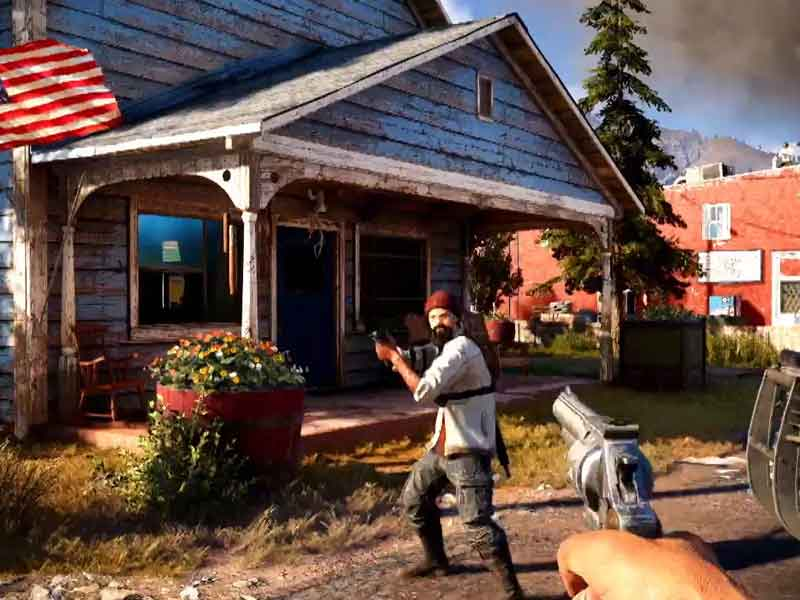 G'day from Far Cry 5's Hope County, Montana
