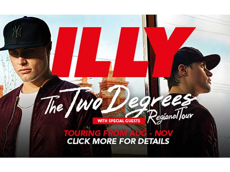 News: Illy hitting regional Aus for his biggest tour yet