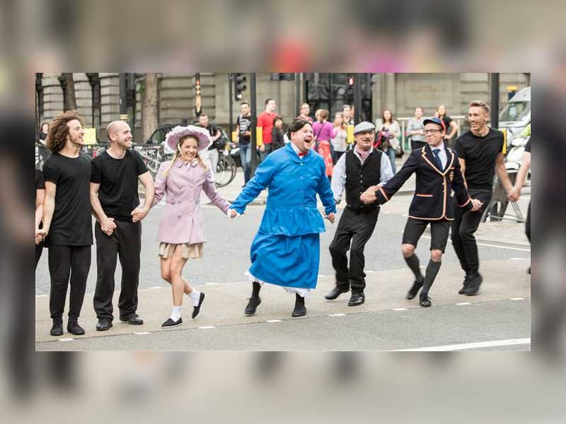 Watch: James Corden tackles Mary Poppins