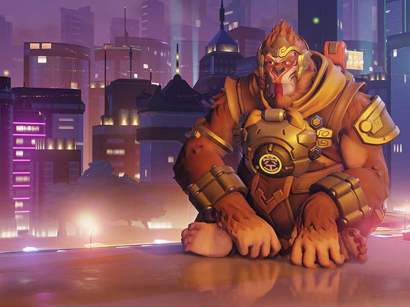 News: Overwatch's new map is out of this world