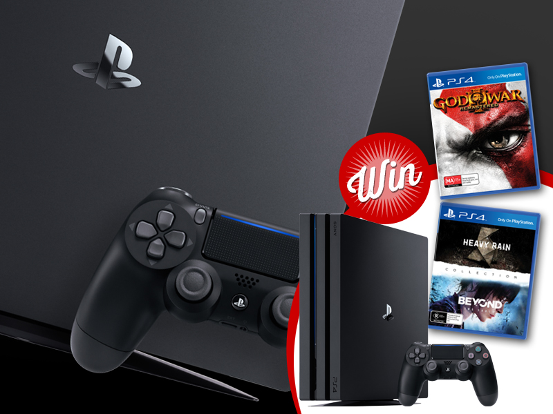 Win: PlayStation 4 Pro, plus a games bundle