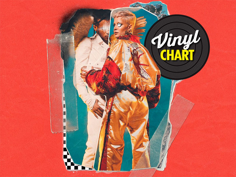 JB's vinyl chart (June, week 2)
