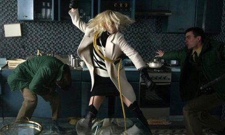 Charlize Theron fights like a girl in Atomic Blonde