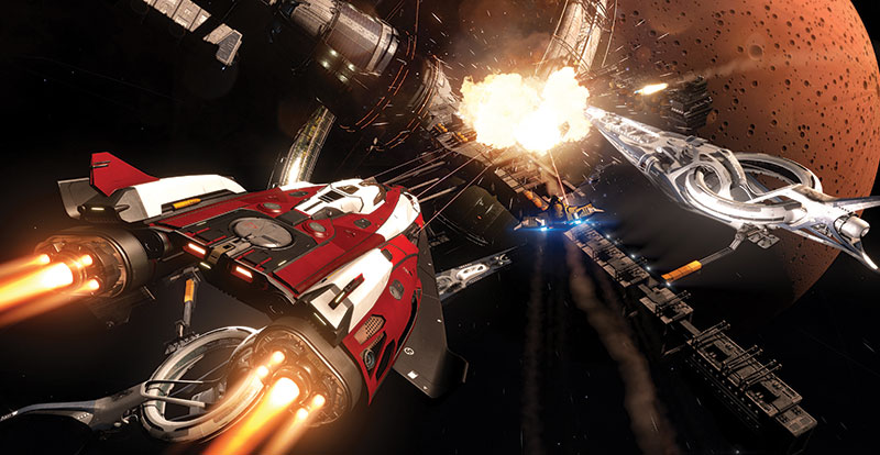Elite Dangerous retail release for Xbox One and PS4