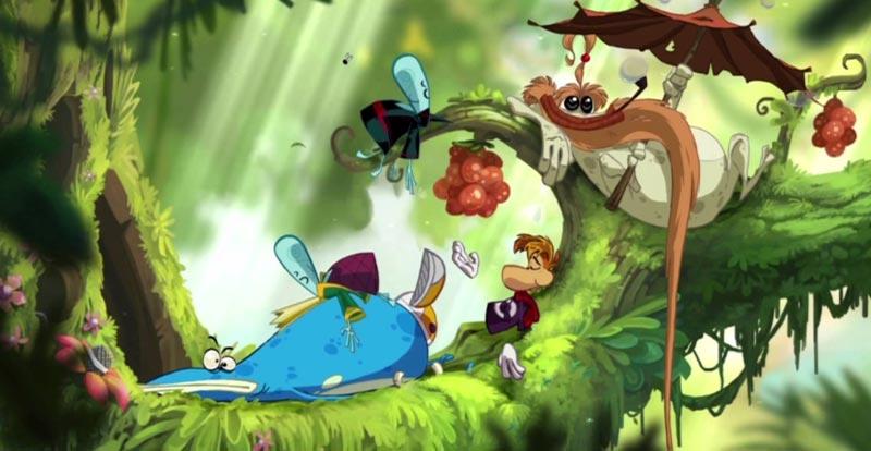 Dreamy games - Rayman Origins
