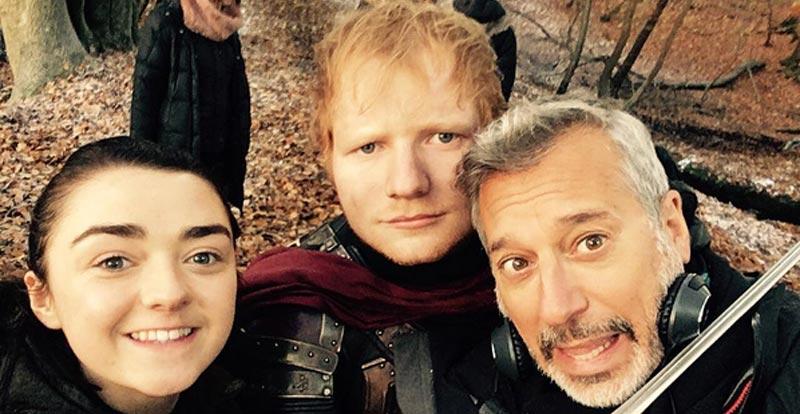 Ed Sheeran rivals Hank Scorpio for world domination (BWA-HA-HA!)