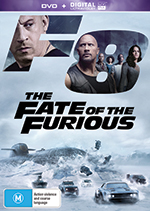 Fate of the Furious DVD cover