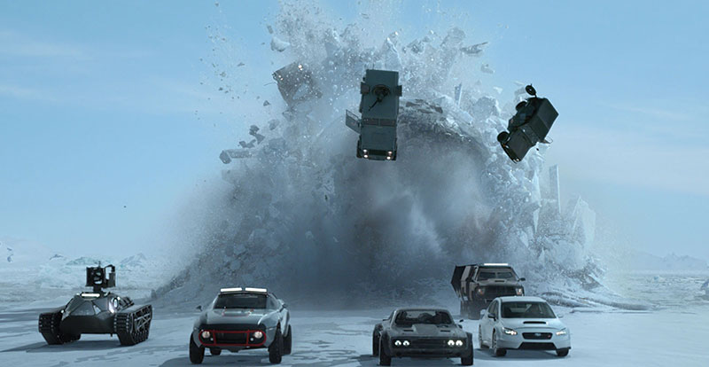 The Fate of the Furious – the fateful 8