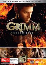 Grimm Season 5 DVD Cover
