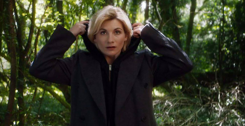 Jodie Whittaker, that's Who!