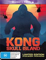 Kong Skull Island Exclusive Steelbook