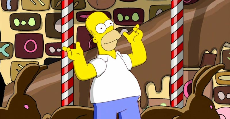 MMMmmm, World Chocolate Day! 10 yummy Simpsons chocky moments