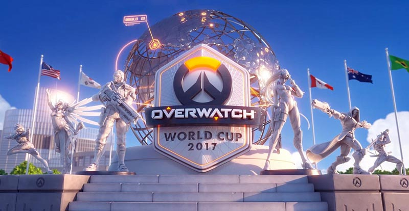 Overwatch World Cup on TV this Sunday