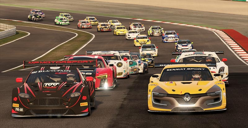 Ooh, shiny! Project CARS 2 line-up revealed