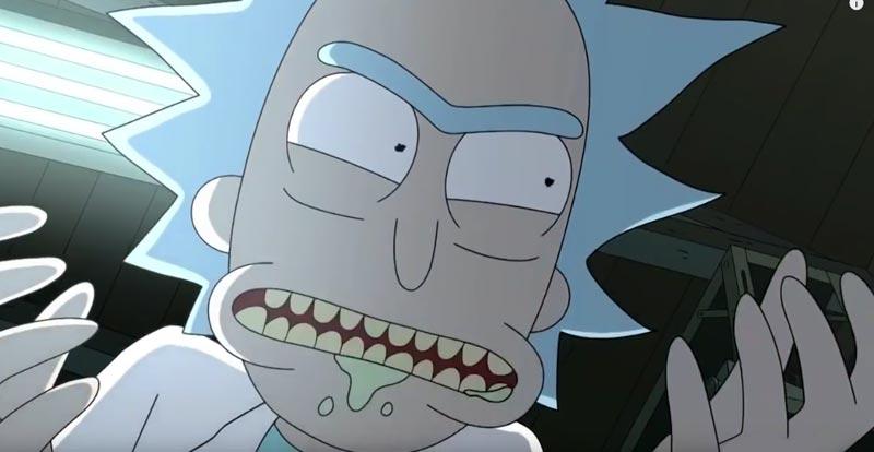 Rick and Morty on the Szechuan sauce!