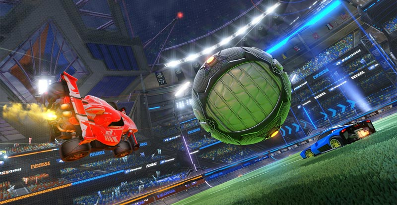 Players get pressies for Rocket League's birthday!