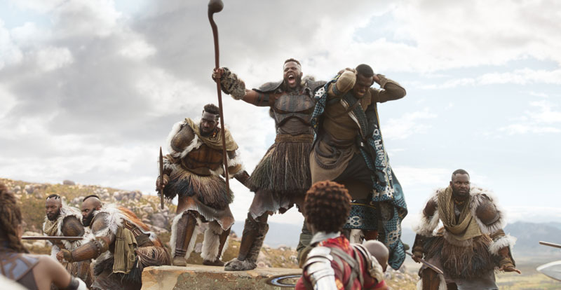 SDCC 2017 – Winston Duke on joining the MCU in Black Panther